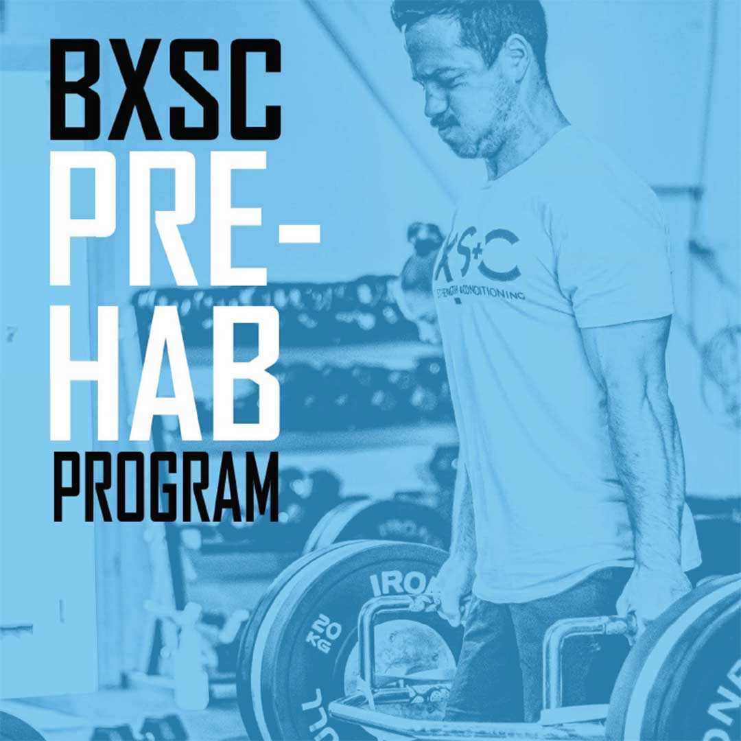 BXSC Pre-hab Program eBook | Bathurst Strength & Conditioning (BxSC) Fitness Gym